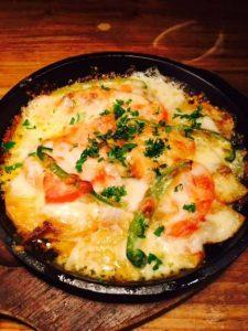 アンチョビポテトのチーズ焼き